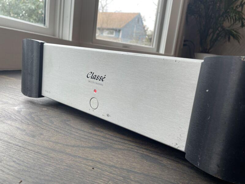 Classe Audio CAV-75 6 Channel Power Amplifier RARE Audiophile - Works Great!