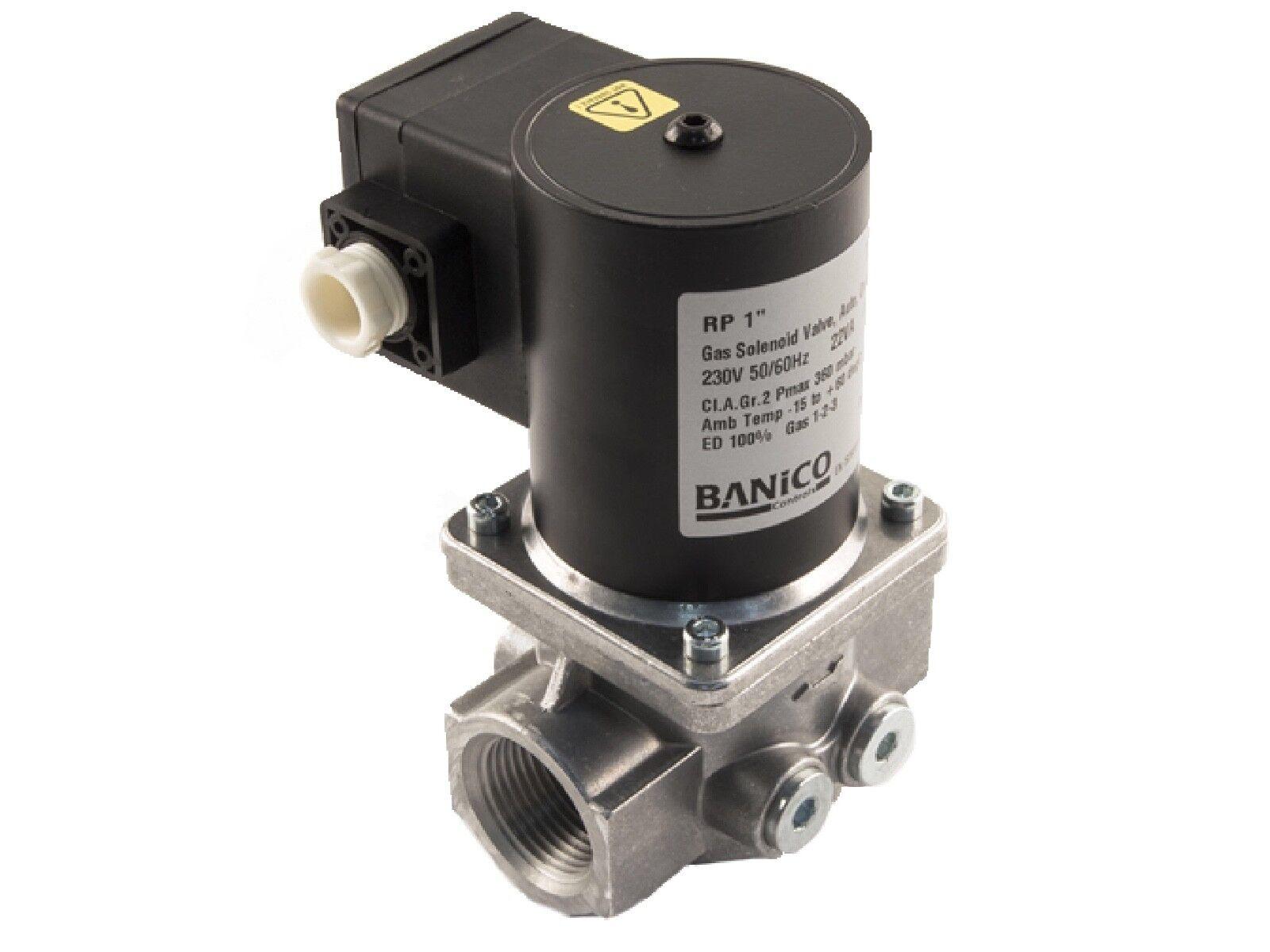 """28mm Gas Interlock Minder System with Gas Solenoid Valve 1"""""""