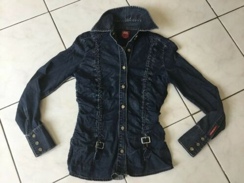 Chemise en jean miss sixty taille xs/s impeccable