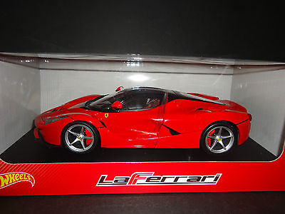 Hot Wheels Ferrari LaFerrari 2013 Red BLY52 1/18