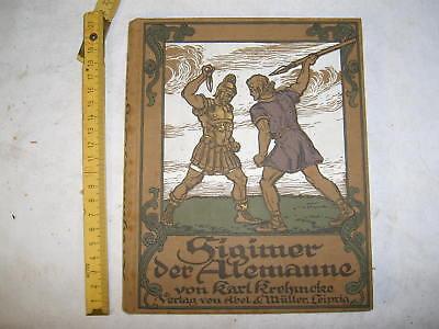 Sigimer der Alemanne , von Karl Krehmcke , 1912
