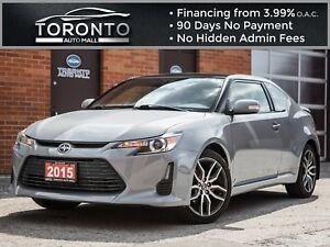 2015 Scion tC Bluetooth|Touch screen|Panoramic roof|Spoiler