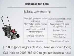 Business for sale - Ballarat Lawn Mowing Ballarat Central Ballarat City Preview