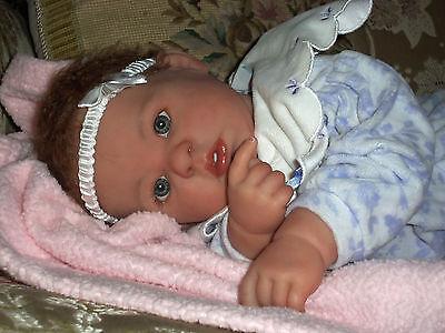 """Custom Reborn OOAK Hand Painted  Berenguer  20"""" doll"""