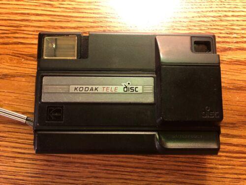 Kodak Tele Disc Point and Shoot VINTAGE RARE Disc Camera PHOTOGRAPHY PHOTO