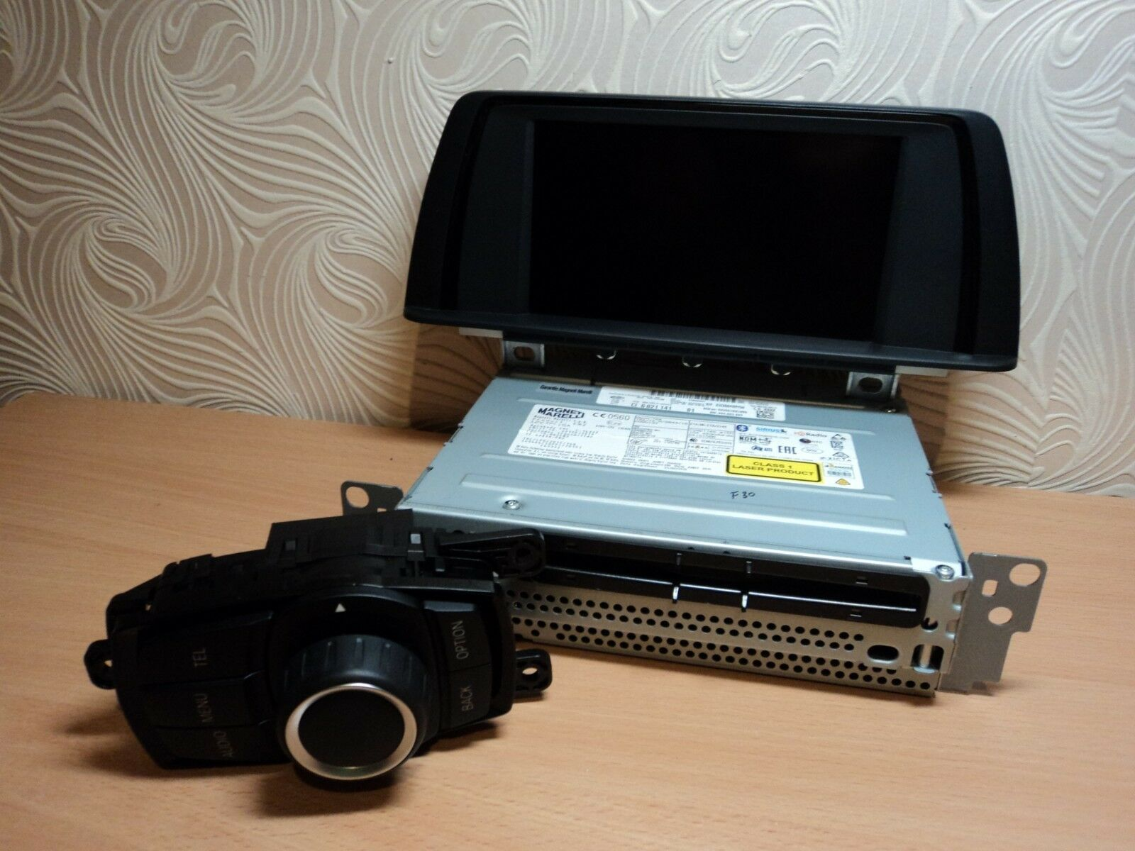 BMW F30 F31 F32 F33  Radio Professional CD Display Controler Set 6821141 9270393
