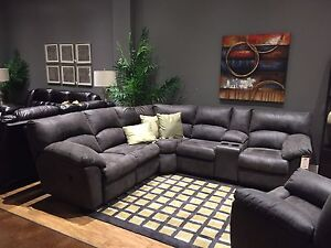 Sectional and chair