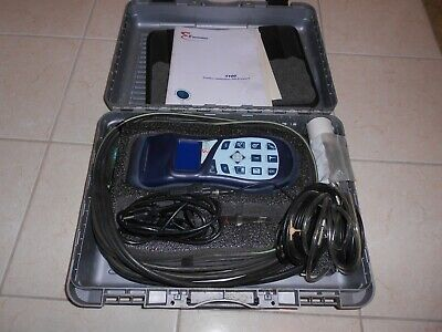E Instruments Model 1100 Combustion Flue Gas Analyzer Hvac Tool Testo