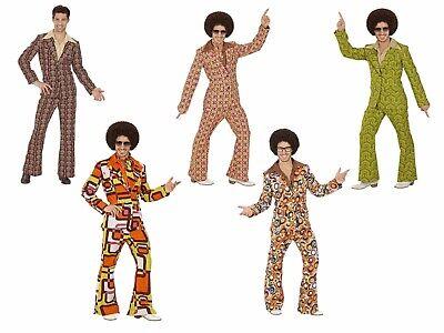 ANZUG 70er Jahre Verkleidung Herren Kostüm Retro Hippie Schlagermove