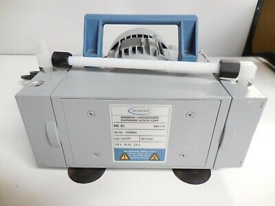 Vacuubrand Me 4c Diaphragm Vacuum Pump Max 40 M3h 800 Mbar