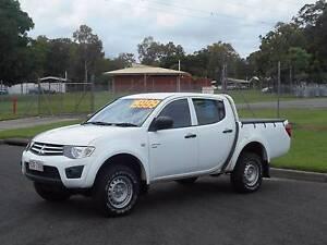 2011 Mitsubishi Triton 4WD DAULCAB AUTO Bungalow Cairns City Preview
