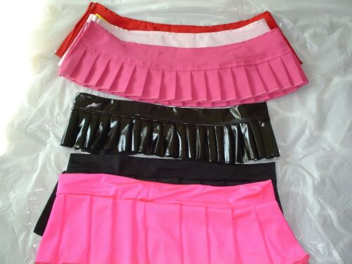 STRIPPER POLE DANCER EXOTIC ENTERTAINER  SKIRTS BULK LOT 6 PACK