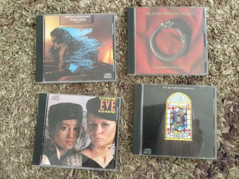 The Alan Parsons Project CD Lot
