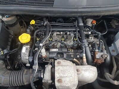 Vauxhall Corsa D 10-15 1.3 Diesel A13DTE Engine Run And Tested Complete.
