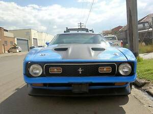 1972 Ford Mustang Mach 1 Coupe Fastback 351 V8 Cleveland Mortdale Hurstville Area Preview