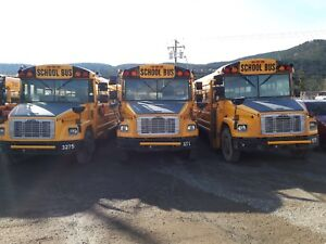 2003  school busses, possible motor home