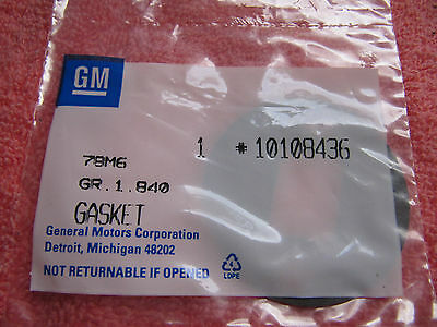 GM 10108436 OIL COOLER ADAPTER GASKET NEW