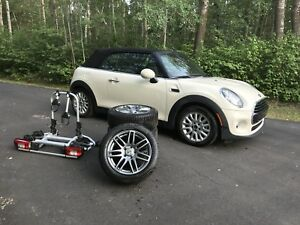 Mini Cooper Pepper white convertible - MINT CONDITION