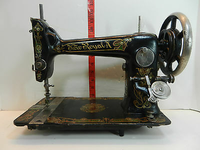 Illinois Sewing Machine New Royal A Household Mechanical Treadle Head Only
