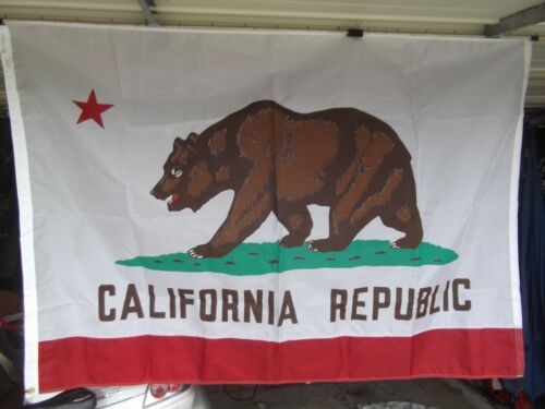 4X6 ft CALIFORNIA Golden State OFFICIAL STATE FLAG OUTDOOR-INDOOR NYLON