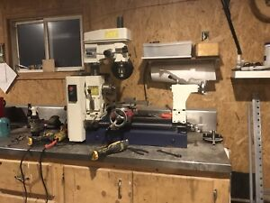 Metal lathe/milling machine