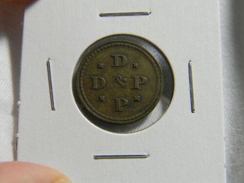 USA  D & P Trade token (0209) Scarce