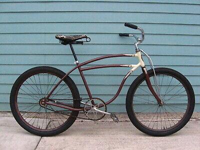 "Clear Glitter 36"" Combination Bike Lock-Chain-Schwinn Stingray-Chicago-60's 70's"
