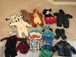 Baby boy clothes whole lot for sale 6-12 months