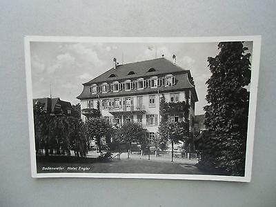 Ansichtskarte Badenweiler Hotel Engler 1941