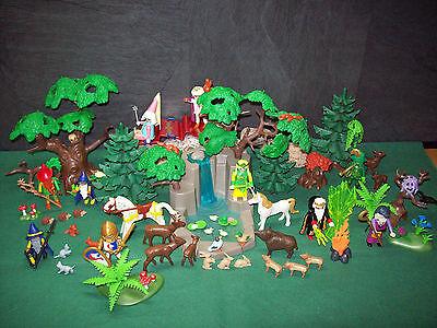 Playmobil ***Rarität*** Riesengroßer Zauberwald, ohne OVP!