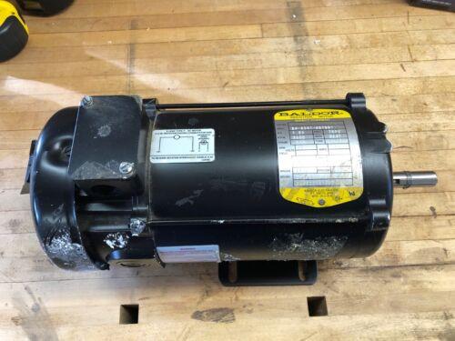 Delta 438023141060 DL40 DC Lathe Motor Baldor 34-6301-567301 1.25 HP TEFC