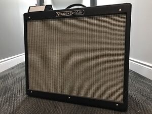 Fender Hot Rod DeVille 212 Tube Combo w/ Footswitch & Cover