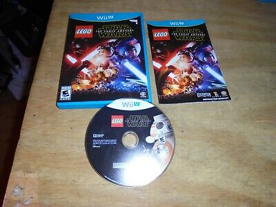 LEGO Star Wars: The Force Awakens (Nintendo Wii U, 2016) Very Good Condition