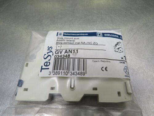 Telemecanique GVAN11 Auxiliary Contact - USA Seller