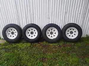 4x 225 75 r15 wheels with 95% tread Ballarat Central Ballarat City Preview