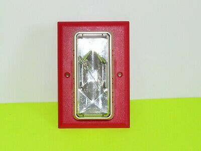 Est Edwards 202-7a-001 Fire Alarm Strobe Red