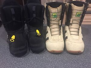 Barely used men's snowboard boots