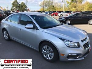 2015 Chevrolet Cruze 1LT ** BACKUP CAM, BLUETOOTH, CRUISE **