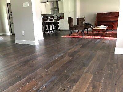9 Mile Creek Charcoal Engineered Hardwood Wood Flooring Floo