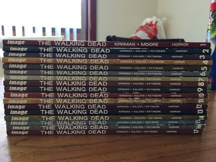 The Walking Dead graphic novels V 1 to 17