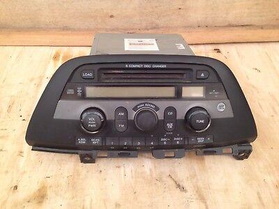 05-07 HONDA ODYSSEY XM RADIO STEREO AM/FM CD PLAYER 6 DISC CHANGER Honda Odyssey Stereo
