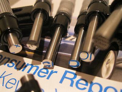 Starrett T436.1 Xlr Micrometer Set Wstandards 0-6 Carbide .0001no Engravings