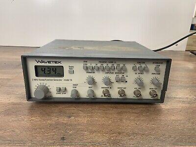 Wavetek Model 19