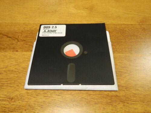 """DOS 2.5 for Atari 400 800 XE XL 5.25"""" Floppy"""