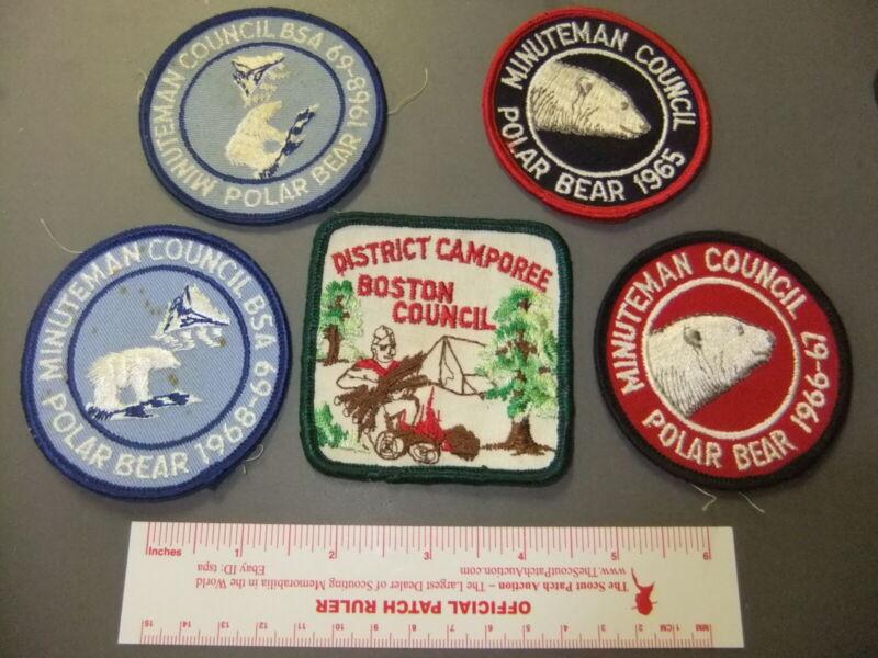 Boy Scout Lot Minuteman Council Events 0543HH