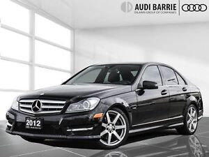 2012 Mercedes-Benz C350 4matic Sedan AWD