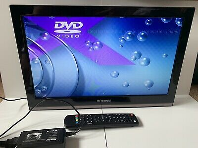 "18"" Inch Polaroid TV, with HDMI and DVD Disc Player Scart USB Bedroom Children's"