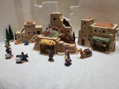 Department 56: Nativity Set of 12 - Little Town of Bethlehem