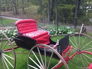 1885 fully restored 2 passenger buggy