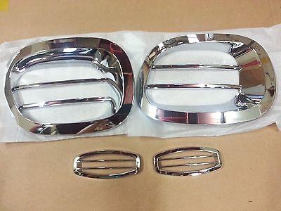 Chrome Fog & Side Lamp Molding:4p Made in Korea for Kia BongoⅢ K2700 ~11